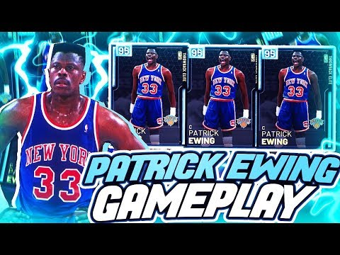DIAMOND PATRICK EWING GAMEPLAY! SAVE YOUR MT! SUPER OVERRATED CARD IN NBA 2K19 MYTEAM