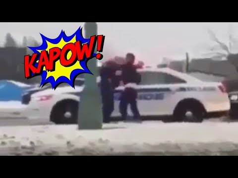 Viral Laval Police Headbutt Video Explained