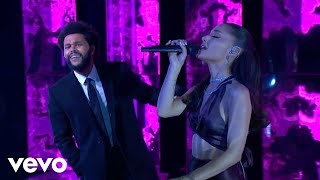 The Weeknd & Ariana Grande - Save Your Tears (Remix) (Live at The iHeartRadio Music Awards 2021)
