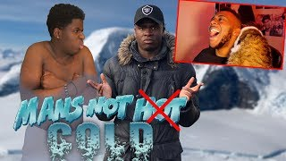 Big Shaq - Mans Not Cold (MANS NOT HOT Remix) REACTING TO