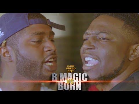 B MAGIC VS BORN RAP BATTLE - RBE