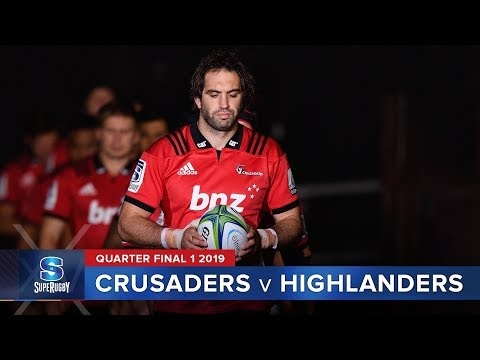 Crusaders v Highlanders | Super Rugby 2019 Quarter Final 1 Highlights