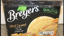 Breyers: Salted Caramel Ice Cream Review