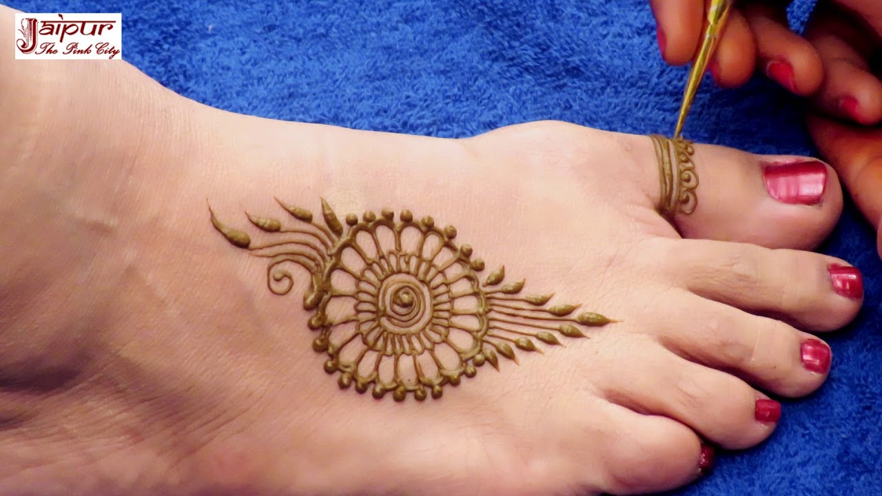 New Best Mehndi Designs Idea For Legs Easy And Simple Mehndi