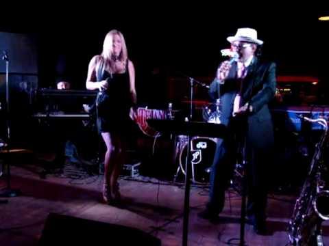 Leslie Lugo & Joe Posada sing their duet Caen Porque Caen LIVE 5-6-10