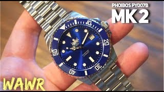 Phoibos PY007B Watch Review - New Model with upgrades - Best Watch Under $300 For SURE