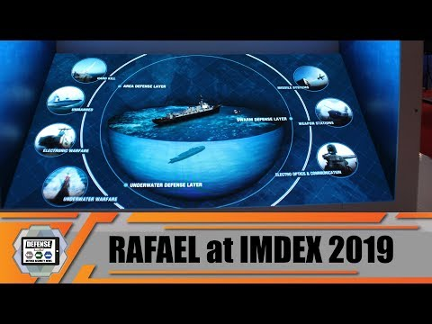 IMDEX 2019: Rafael is showcasing its 360 degrees multi-layered defense solutions Singapore