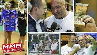 Mecz charytatywny Bokserzy vs Żużlowcy + Najman strzela bramkę