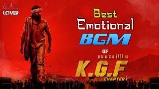 K.G.F (2018) Movie Best Emotional BGM | Yash, Srinidhi Shetty | Prasanth Neel