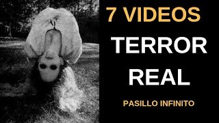 7 Vídeos de Terror Real Escalofriantes vol.7 l Pasillo Infinito