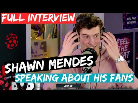 SHAWN MENDES - ABOUT HIS FANS