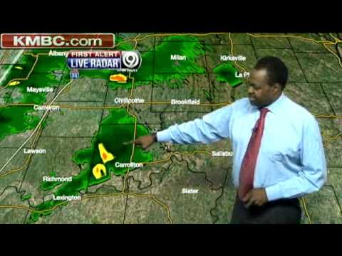 Tornado Warning Issued, Hail Reported