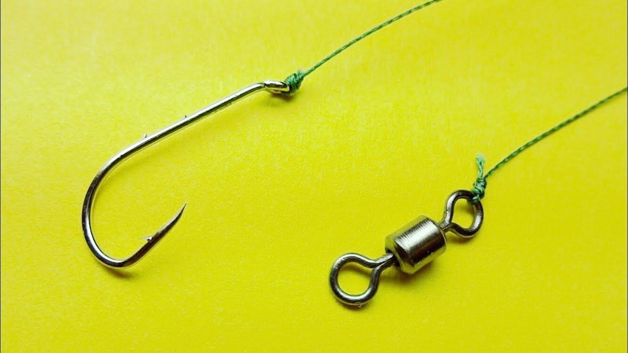 Топ 5 как привязать крючок к леске | рыболовные узлы uni knot | palomar knot | clinch knot | рыбалка
