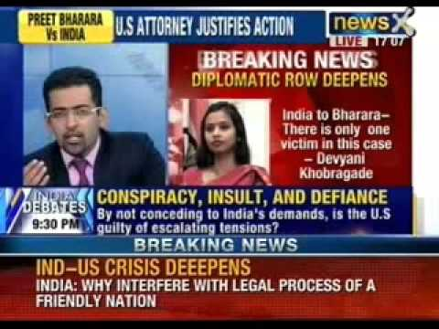 NewsX: India to Bharara - There is only one victim in this case - Devyani Khobragade