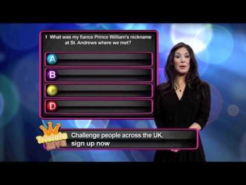 Interactive TV Quiz-Catherine Middleton Quiz