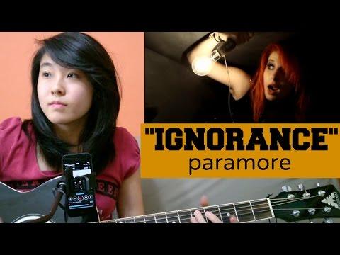 Paramore - Ignorance (acoustic cover KYN) + Lyrics + Chords