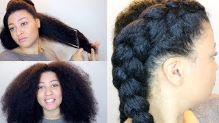 HOW TO Moisturize DRY LOW POROSITY Natural Hair thumbnail
