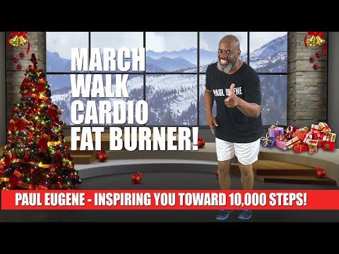 March Walk Cardio Fat BurnerToward 10,000 Steps This Holiday Season!