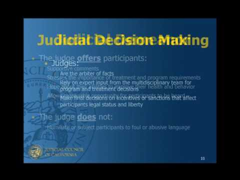 Adult Drug Court Standards: Standard III – Roles and Responsibilities of the Judge