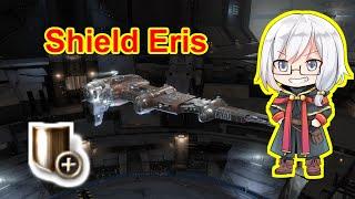 EVE Online - Shield Eris quick tackle super carrier [Hel Kill]