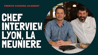 chef Olivier Canal interview from la Meuniere in lyon city(In French)