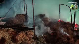 Großeinsatz der Feuerwehr Raesfeld und Erle