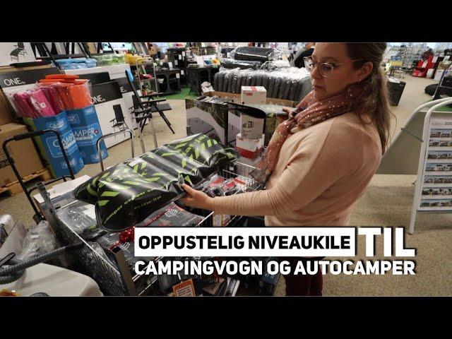 Flat-Jack oppustelig niveaukile til campingvogn og autocamper