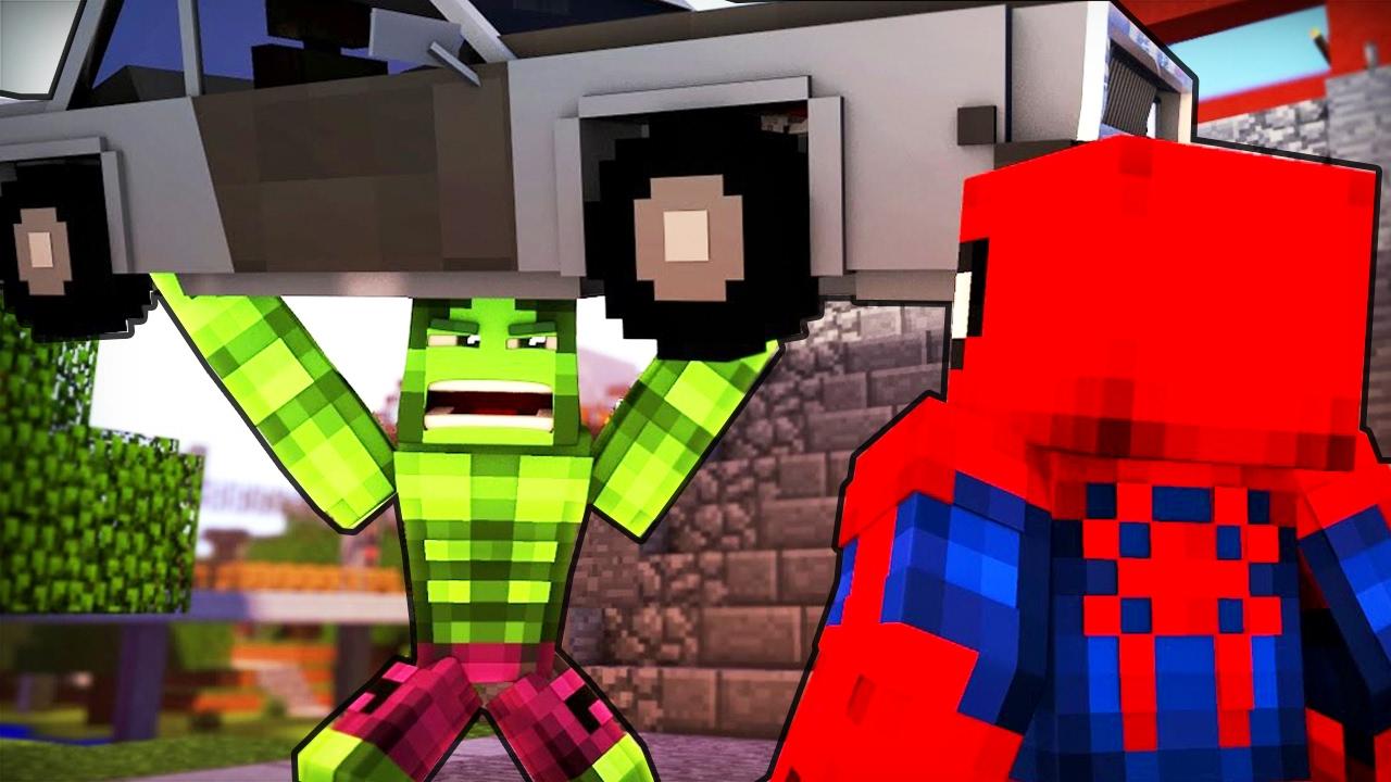Дети Человек паук и Ребенок Халк в Майнкрафт ! Кто Твоя ...