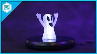 Ghost Lamp #3DPrinting – Timelapse Tuesday @adafruit #adafruit