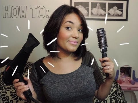 how to style hair with hair dryer how to hair with volume 5443