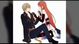 Someone is jealous of us [ Okita - Kagura ] Gintama