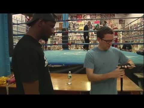 Best Boxing Trainer Ever : Eric Kelly's Training 101