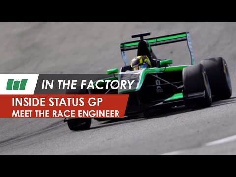 Meet the race engineer, Status Grand Prix team | IN THE FACTORY