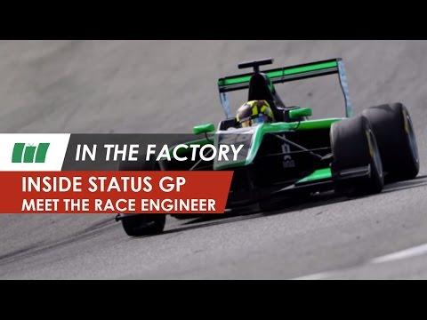 Meet the race engineer, Status Grand Prix team | IN THE FACTORY