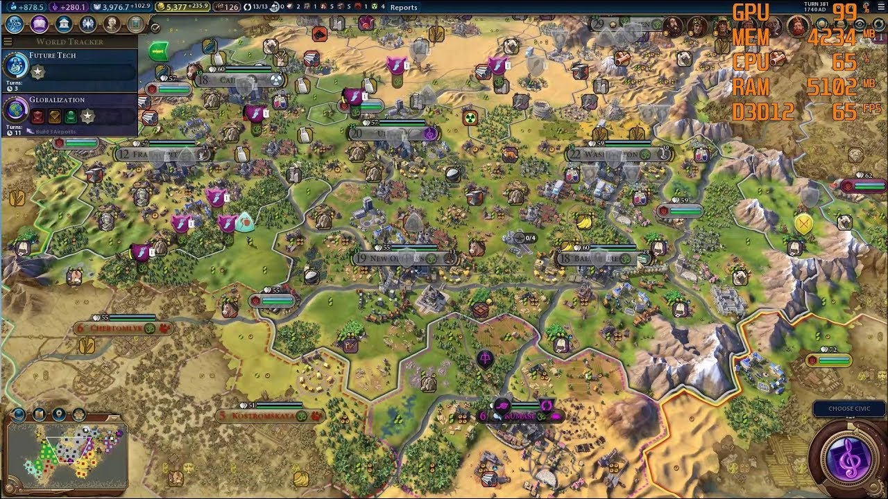 Civ 6 Zoom Out