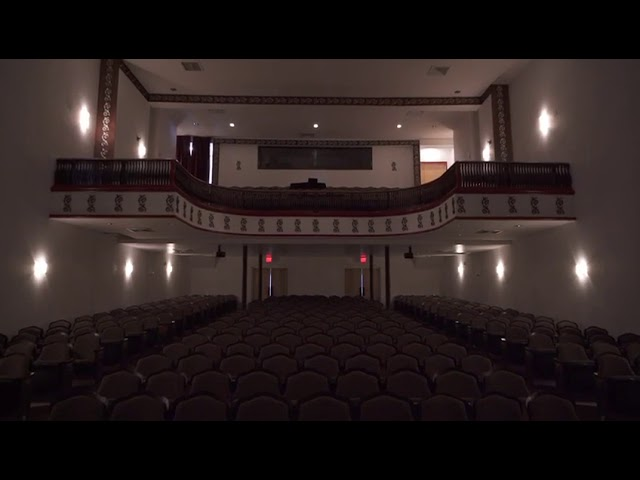 1913 Historic Lyric Theater Stage & Auditorium Restoration Walkthrough