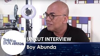 TWBA Uncut Interview: Boy Abunda | Part 2
