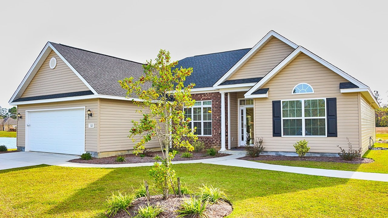 New Homes in Myrtle Beach SC at Forestbrook Preserve Built ...
