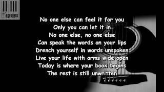 Unwritten (Lyrics) / Boyce Avenue - Unwritten (Lyrics)(ft. Diamond White)