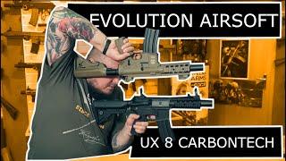 Evolution Airsoft - UX 8 Carbontech EC06AR  - TANIEMILITARIA.PL
