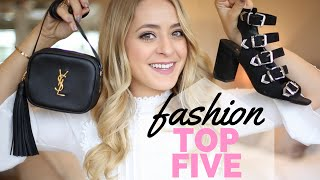 Fashion TOP 5 - September!
