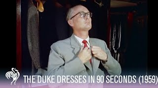 Duke Gets Dressed In 90 Seconds