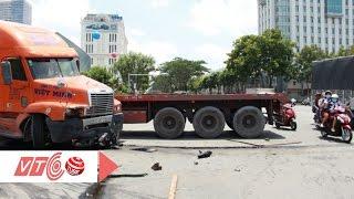 Tài xế container lý giải nguyên nhân gây tai nạn | VTC