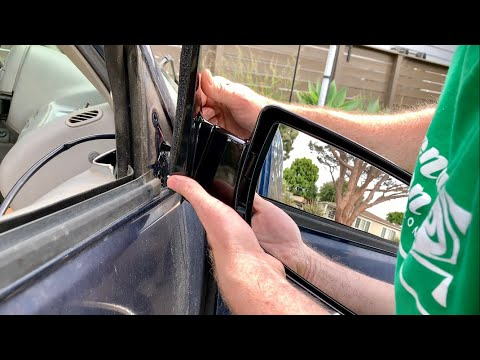 How To Replace The Side Mirror on a Chevrolet Truck 88-98
