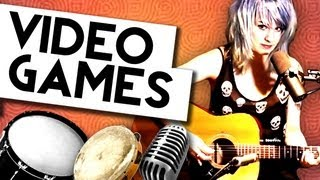 """VIDEO GAMES"" (Lana Del Rey cover) - EMILY BONES"