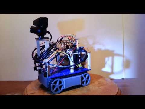 Visual Navigation Robot Hardware