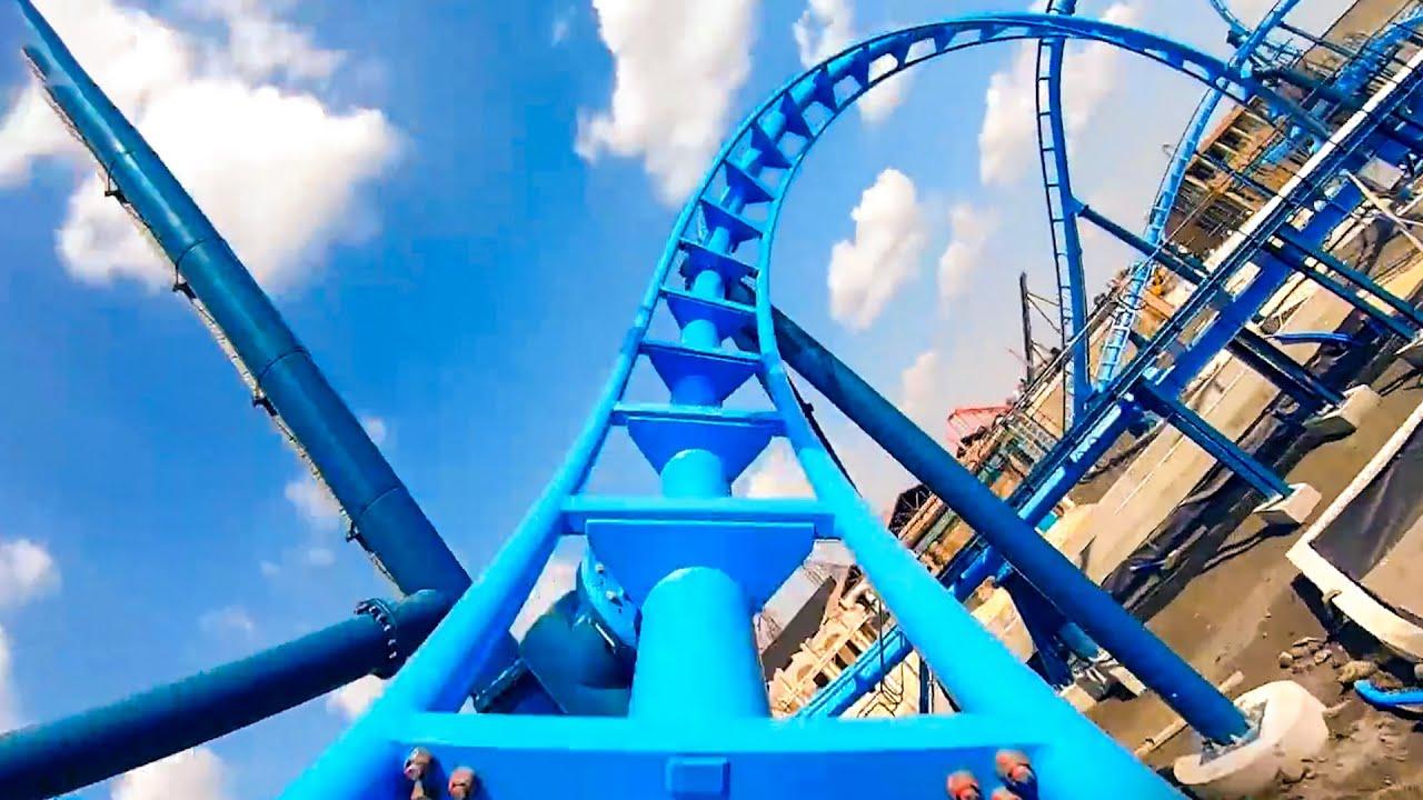 New Roller Coaster! Abyssus at Energylandia! Full POV!