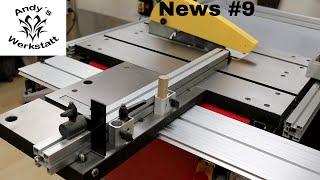 News #9 - Maker Central, Gartenhaus, Holzmann TS 250 uvm.
