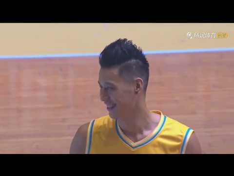 Jeremy Lin 3-pointer and block highlight at 2018 JLin All Star Game in Shenzhen