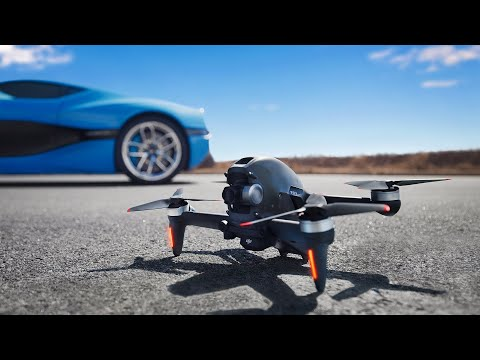 Dope Tech: The Fastest Drone AND Car Yet!